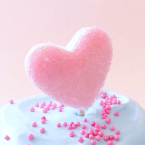 Sparkly Marshmallow Hearts Tutorial