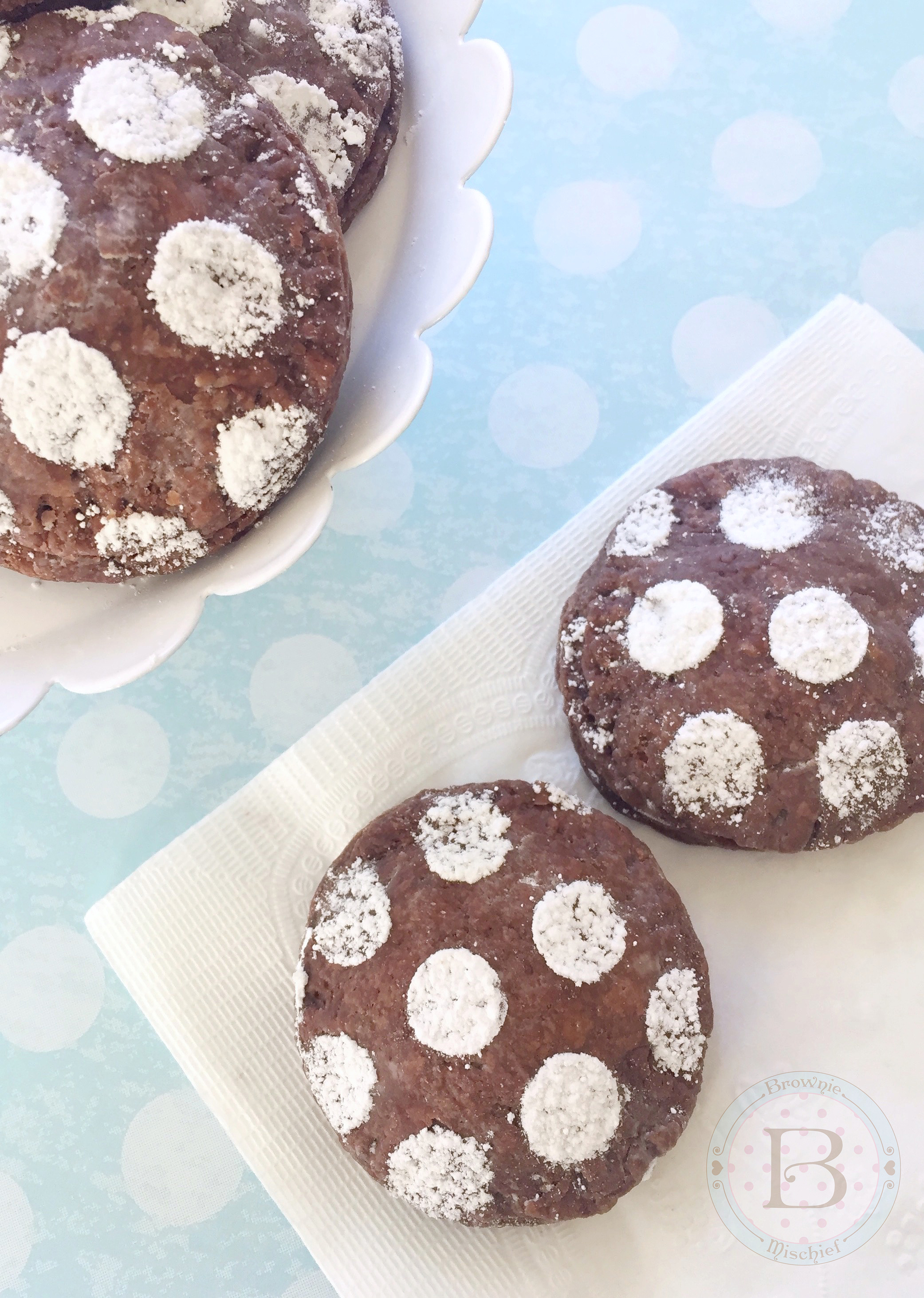 Mini Chocolate Hand Pies by Brownie Mischief