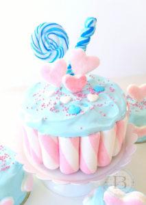 Marshmallow Cake by Brownie Mischief